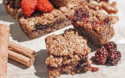 Baked Fruit Oat Bars