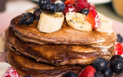 Buckwheat & Blueberry Pancakes