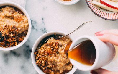 Apple, Oat & Chia Porridge