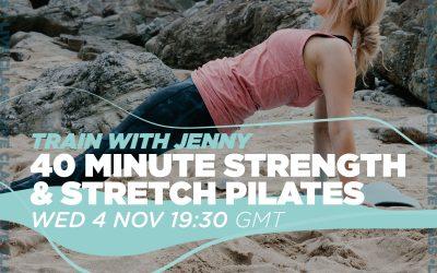 Pilates with Jenny | 40 Min