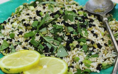 Detox Green Rice Salad
