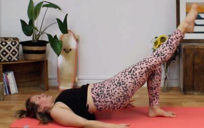 Quick Core Toning Pilates