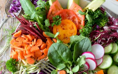 Summer Salad with Homemade Dressings